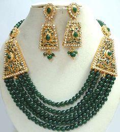 Fun Bollywood jewelry set