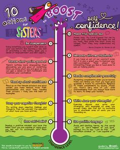 Do you struggle with self-confidence? Find out how to give your confidence a boost with these 10 actions!