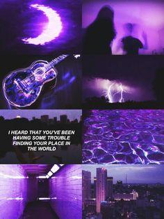 A purple world Dark Purple Aesthetic, Aesthetic Colors, Aesthetic Collage, Aesthetic Pictures, Purple Aesthetic Background, Quote Aesthetic, Rainbow Wallpaper, Purple Wallpaper, Purple Backgrounds