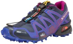 Salomon Womens Speedcross 3 CS W Trail Running Shoe,Deep Blue, I have a pair of these ordered but in orange. Winter Running Shoes, Running In Cold Weather, Best Trail Running Shoes, Running Gear, Athletic Wear, Athletic Shoes, Fell Running, Salomon Shoes, Workout Gear