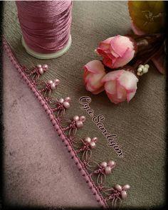 34 Legend Floral Beaded Pattern of Crochet Lace – # beaded # Floral # legend … - Stickerei Ideen Slip Stitch Crochet, Crochet Motifs, Crochet Collar, Crochet Borders, Crochet Stitches, Beaded Embroidery, Hand Embroidery, Embroidery Designs, Beading Patterns