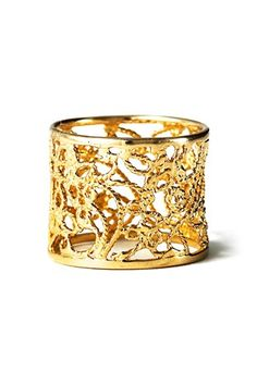 Indian Band Filigree ring gull