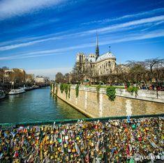 Pont des Arts, cadeados do amor, Paris