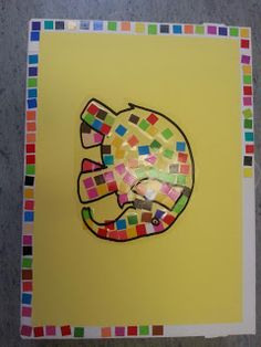 Art Activities, Toddler Activities, Language Arts, Alphabet, Preschool, Elephant, Album, How To Plan, Crafts