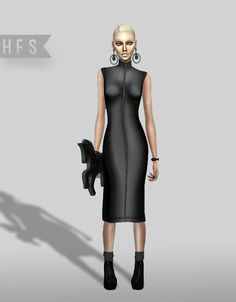 50 SHADES OF BLACK COLLECTION at HAUT FASHION SIMS via Sims 4 Updates