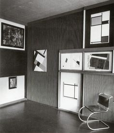 """El Lissitzky's """"cabinet of abstraction"""""""