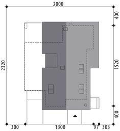 Projekt domu Arystoteles 144,50 m² - koszt budowy - EXTRADOM Facade House, My House, Locker Storage, House Plans, Floor Plans, How To Plan, Furniture, Home Decor, St Laurent