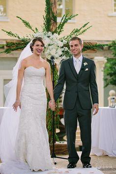 Cross as Wedding Ceremony Backdrop! Addison I Do's — The Addison