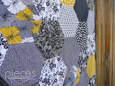 Pieces by Polly: Hexie Quilt