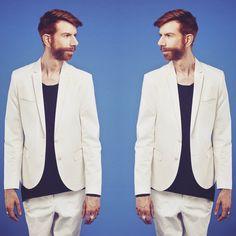 """By #verenamandragora #fashion #photography #grooming by #barbaramariahutter #dandyboyrecords #martinmeister #martin101 #music #artist #ginger #beard #bred #men #NotGivingIn"" www.martinmeister.com"