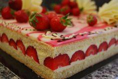 La génoise pour les fraisiers ou gâteaux d'anniversaire.