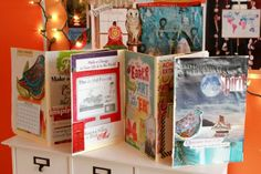Creating a Vision Board (in an accordion-fold book format to display, flip through, or carry anywhere...)