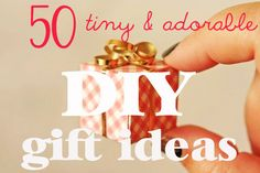 50 Tiny And Adorable DIY Stocking Stuffers