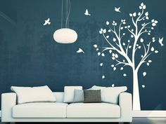 Magic Stickers - Sticker décoratif mural sticker arbre oiseaux 2