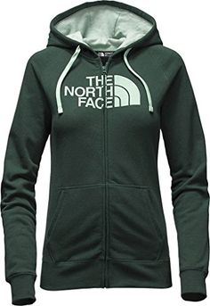 Women's Athletic Hoodies - Womens The North Face Half Dome Full Zip Hoodie >>> To view further for this item, visit the image link.