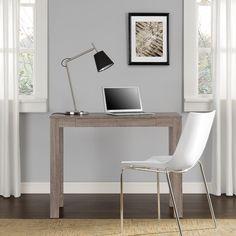 Altra Delilah Sonoma Oak Parsons Single-drawer Desk | Overstock.com Shopping - The Best Deals on Computer Desks