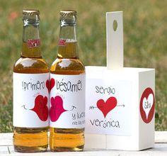 Para decorar tu cena de San Valentín. Comotinta.com - tarjetas y postales con mucha tinta #amor #SanValentín