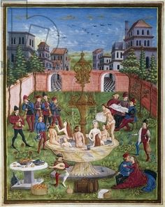 The sons of Venus,miniature,Cristoforo de Predis (1440-before 1486) from the astrological book De Sphaera,latin script,folio 11,recto,parchment,ca 1470,Italy,15th century by - Bridgeman art images & historical footage for licensing