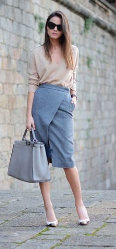 40 Most Desirable Outfits to Work in Style - Stylishwife