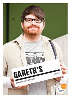 Gareth's City Mag. Cover Photography by Julien Becker.
