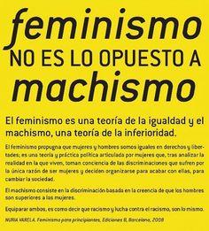 """FeminismoFeminisme (@femipride) en Instagram: """"Feminismo no es lo opuesto a machismo."""""""