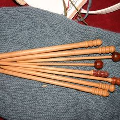 woodworking knitting needles - Google Search