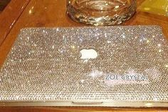 Bling and Stylish MACBOOK Case / Cover in CLEAR by ZoeBlingWorld