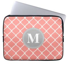 >>>best recommended          Coral Pink Moroccan Lattice Grey Monogram Laptop Sleeves           Coral Pink Moroccan Lattice Grey Monogram Laptop Sleeves we are given they also recommend where is the best to buyShopping          Coral Pink Moroccan Lattice Grey Monogram Laptop Sleeves Review...Cleck Hot Deals >>> http://www.zazzle.com/coral_pink_moroccan_lattice_grey_monogram_laptop_sleeve-124923692732141888?rf=238627982471231924&zbar=1&tc=terrest
