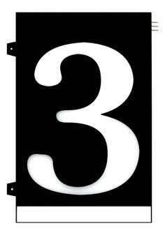 Homidea Backlit LED House Number 3 Led House Numbers, Home Projects, Craft Projects, Overhead Lighting, Emergency Response, House Entrance, Number 3, Day For Night, Diy Home Decor