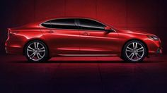 Acura TLX-L Prototype stretches its wheelbase in Shanghai