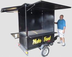 Mini food truck para moto - Flexmoto - Moto Food