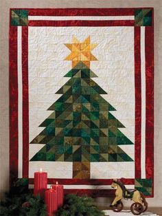 Oh, Christmas Tree Quilt Pattern