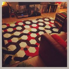 I can imagine it's my Overlook Hotel carpet!