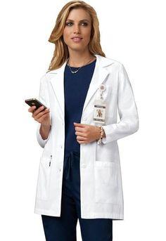 "Cherokee Professional Whites 346 32"" Lab Coat"