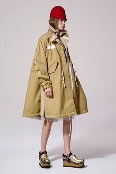 Sacai | Resort 2017 Collection | Vogue Runway