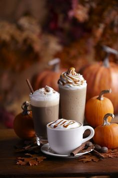 Oh yum....hot fall drinks...