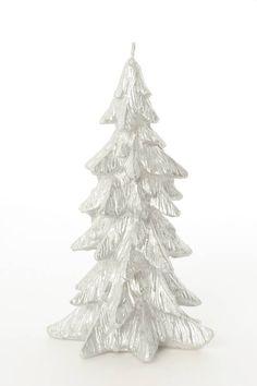 Vela plateada árbol de Navidad 19 cm Disponible en http://www.vegaoo.es/p-212127-vela-plateada-arbol-de-navidad-19-cm.html?type=product