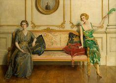 John Collier - Sacred and Profane Love (1919)
