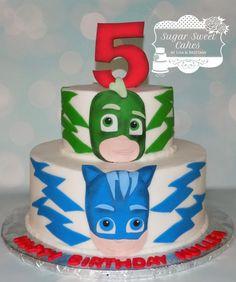 PJ Mask - Cake by Sugar Sweet Cakes