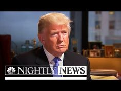 NBC News: Presumptive GOP Nominee Trump Goes One-on-One With Lester Holt | NBC Nightly News