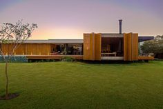 Casa MCNY 01 850x570 MF  Arquitetos Designs a Private Residence in Franca, Brazil