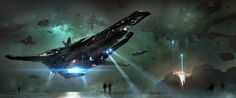 I wanted to share my growing collection of Star Citizen concept art/fan art/wallpapers to date. 109 images. - Album on Imgur