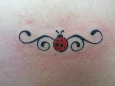 ladybug butterfly tattoo designs