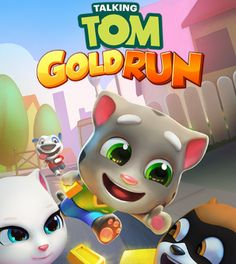Говорящий Том: бег за золотом на ПК