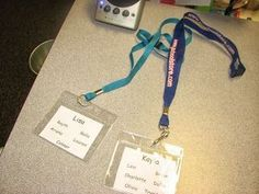 Instead of giving parents a list of students during field trips, give them a lanyard! Amazing idea!!