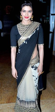 Priyanka Chopra at the launch of Dilip Kumar's autobography. #Style #Bollywood #Fashion #Beauty