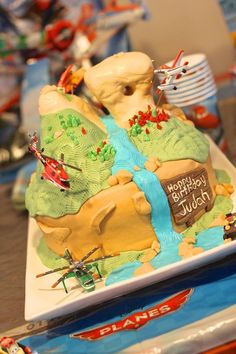 Disney Planes Fire and Rescue Birthday Cake