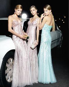 vestidos de fiesta rosa clará 6