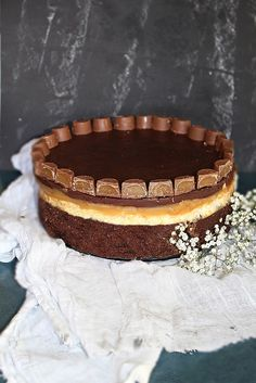 Chocolate and Toffee Rolo  Cake