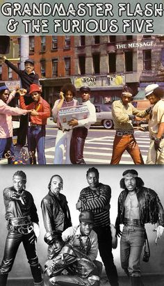 "Grandmaster Flash & The Furious Five ""The Message"" (1982) — their debut album"